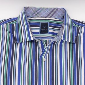 Tailorbyrd Men's Big and Tall Button Down Shirt